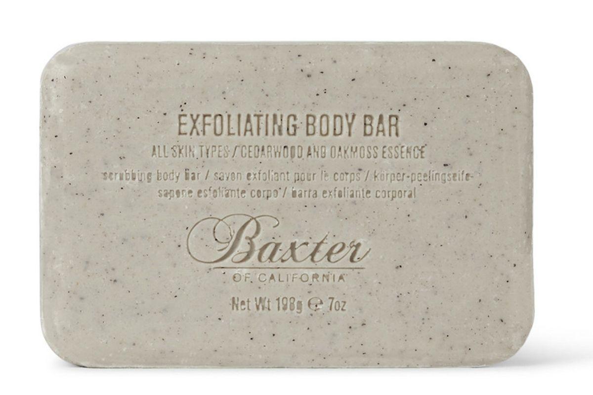 baxter of california exfoliating body bar cedarwood oakmoss essence