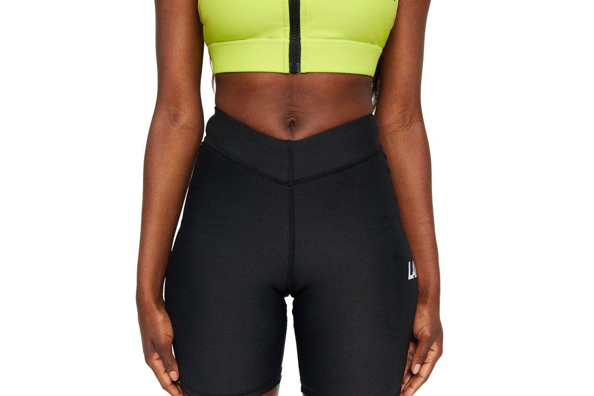 lapp v front logo pocket shorts