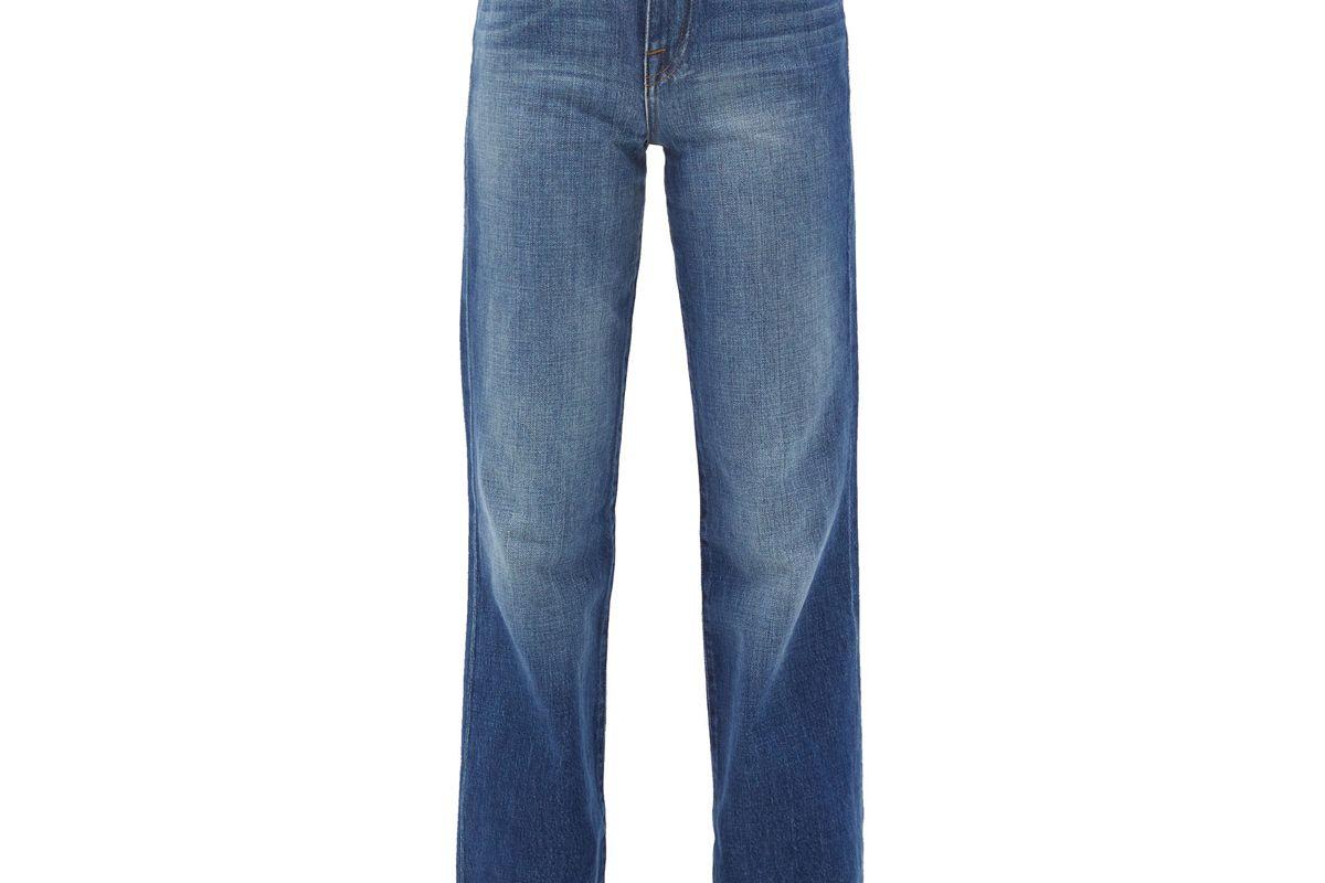 frame le jane dorsey straight leg jeans