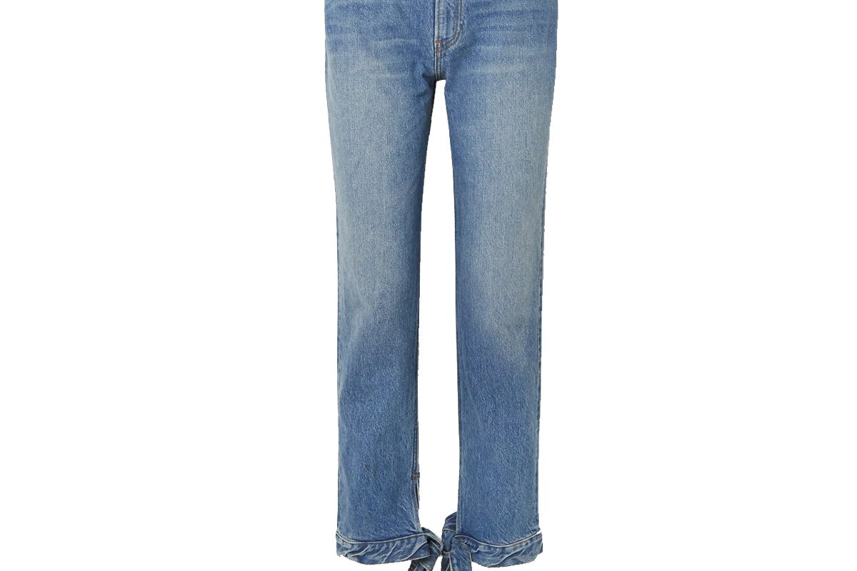 reformation chiara high rise straight leg jeans