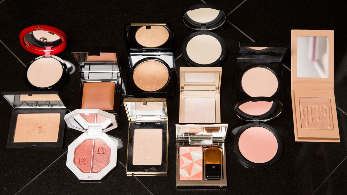 reflective skin highlighters