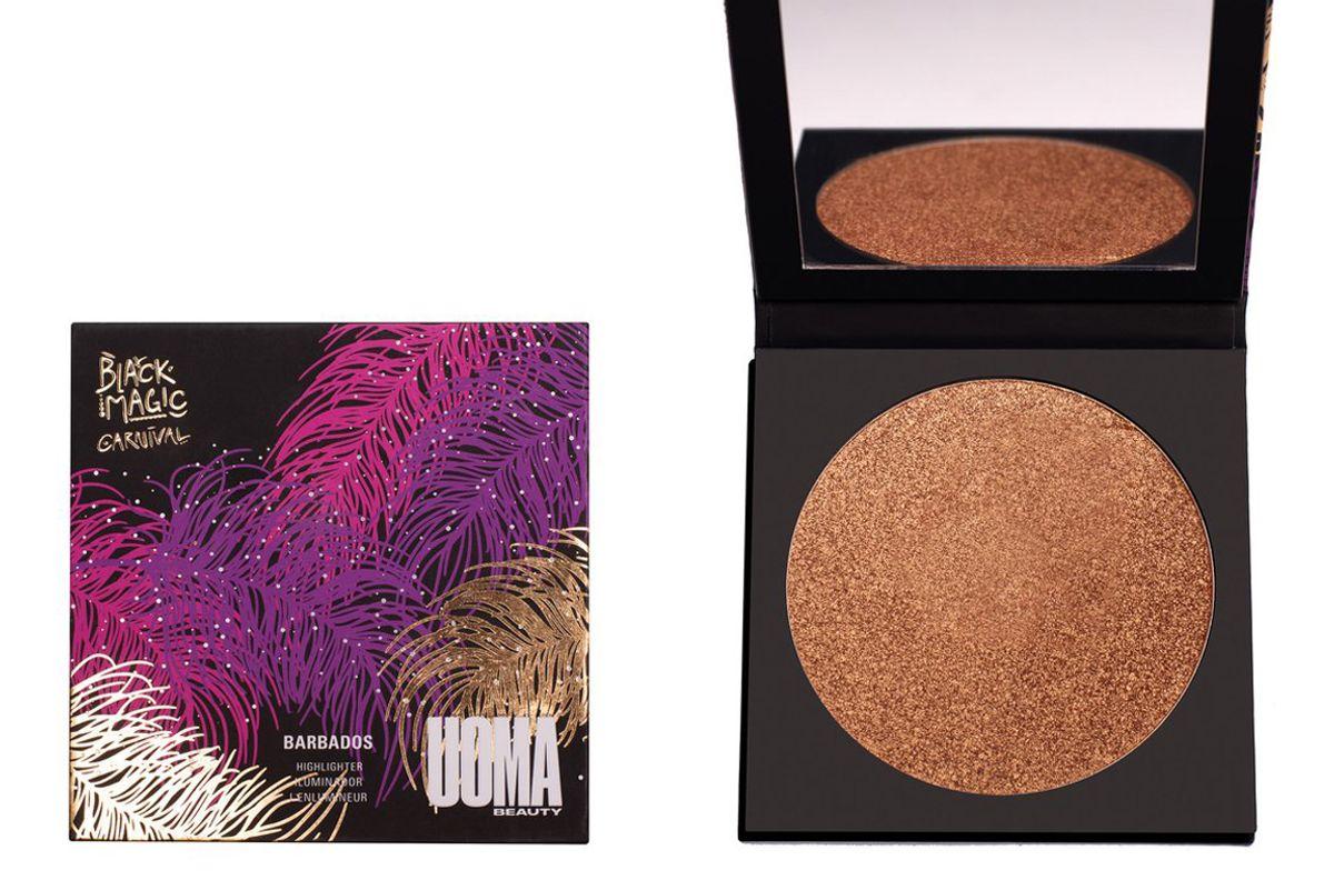 uoma beauty black magic carnival bronzing highlighter