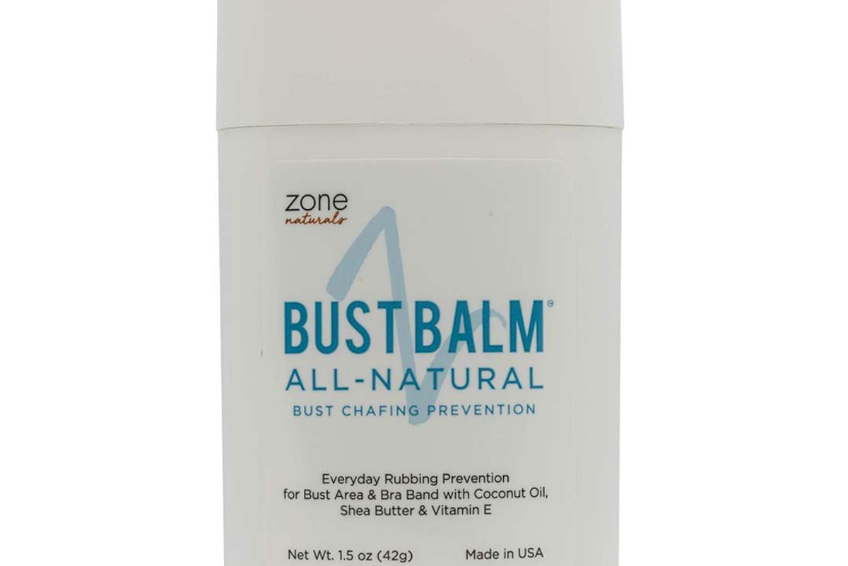 zone naturals bust balm all natural bust chafing prevention