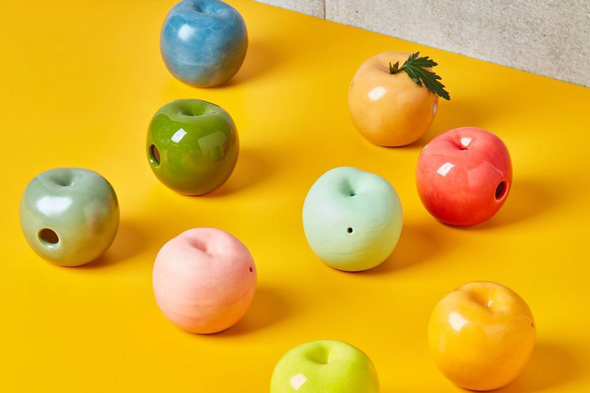 sitko studio ceramic apples