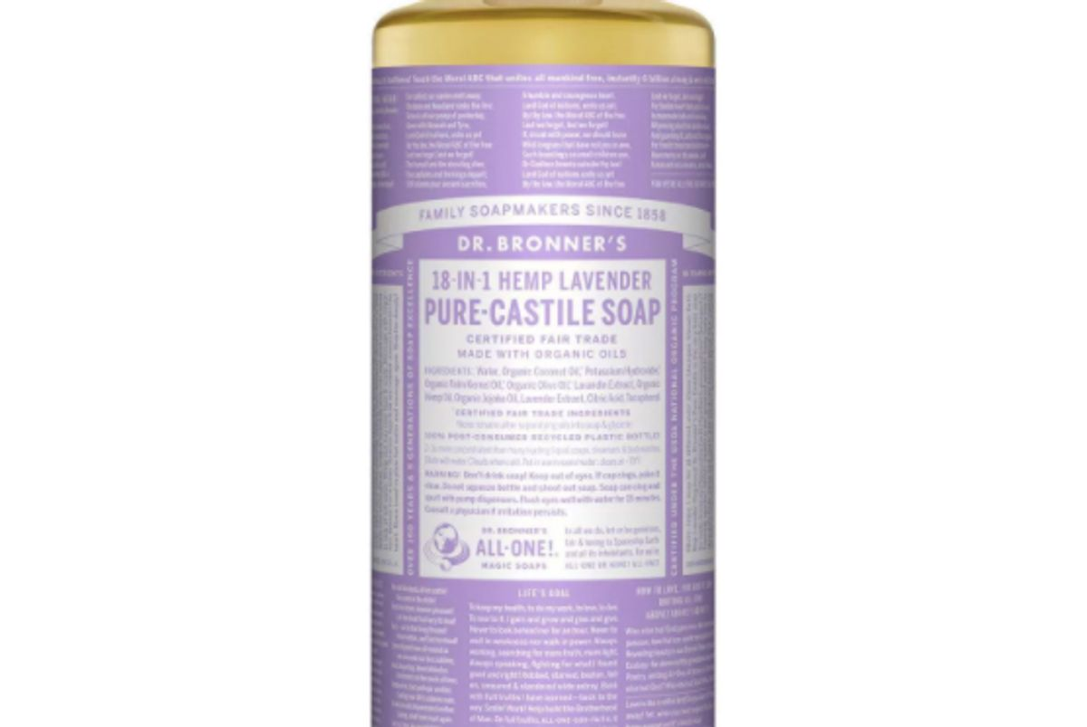 dr bronners 18 in 1 hemp pure castile soap
