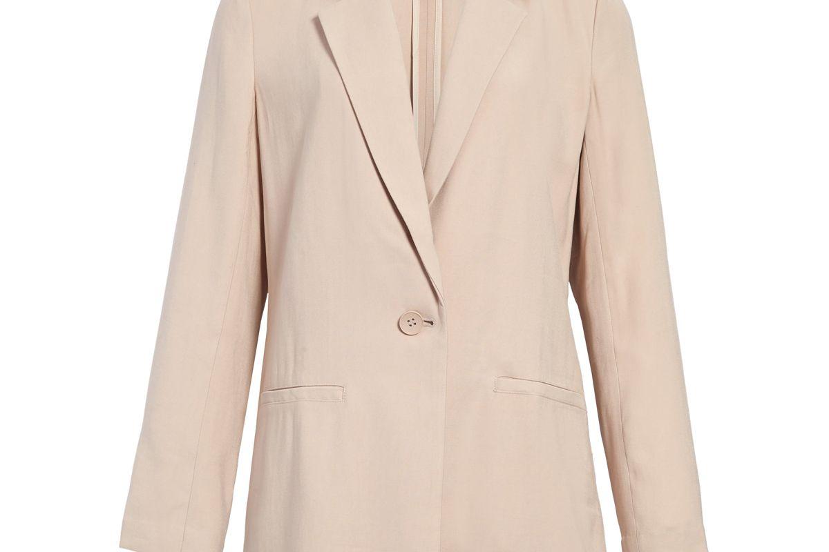 chelsea28 front button blazer