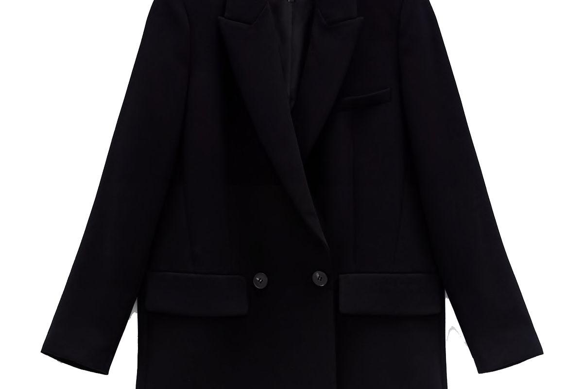 zara flowy jacket trf