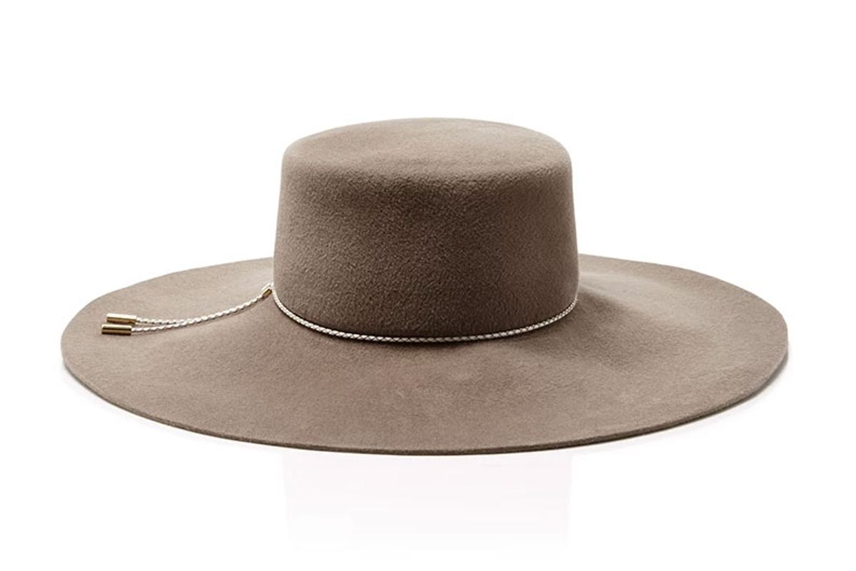Loulou Boater Hat