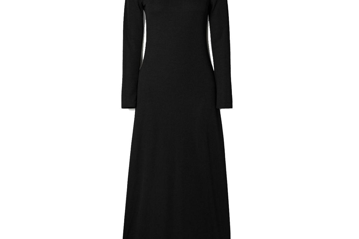 christopher esber open back ribbed knit maxi dress