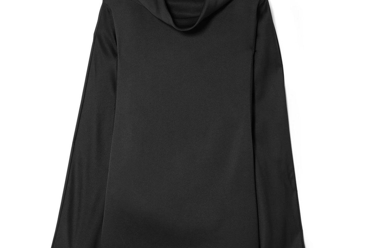 the row iona oversized silk satin top