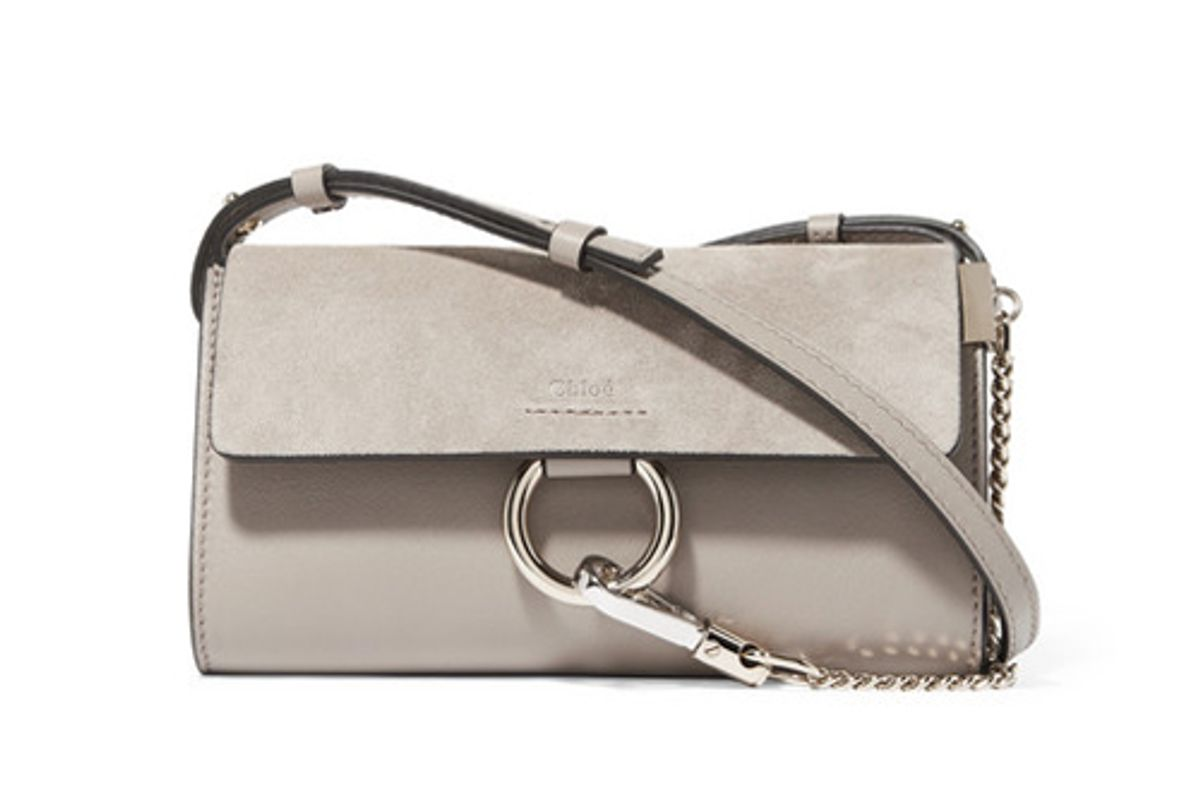 chole faye mini leather bag