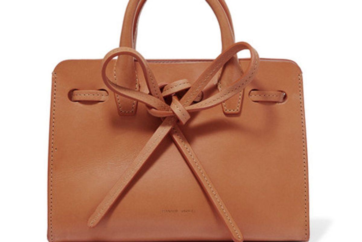 mansur gavriel sun mini mini leather tote