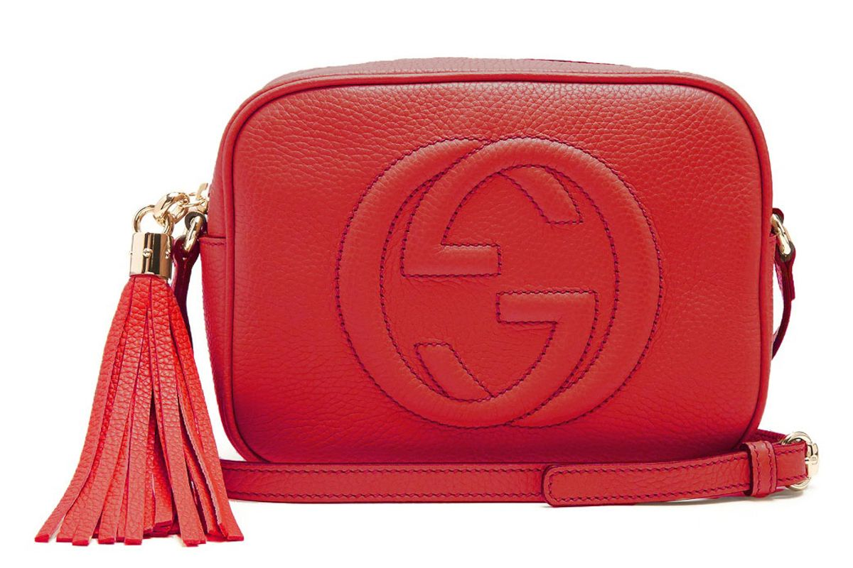 Soho Grained-Leather Cross-Body Bag