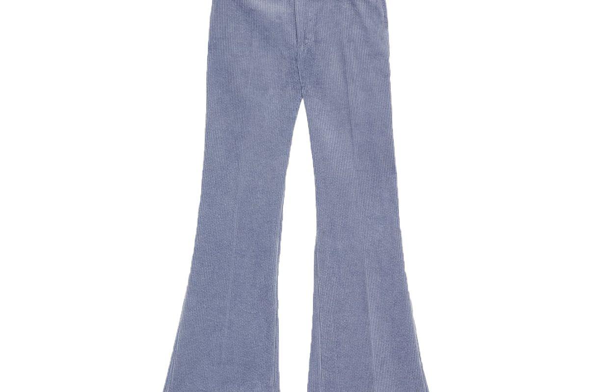 zara flared corduroy pants