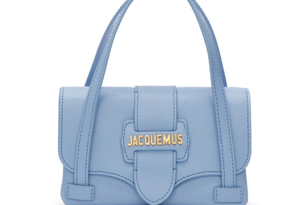jacquemus blue le minho bag
