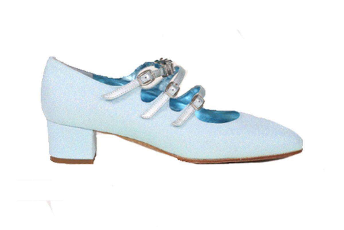 kina babies glitter bleu magic shoes