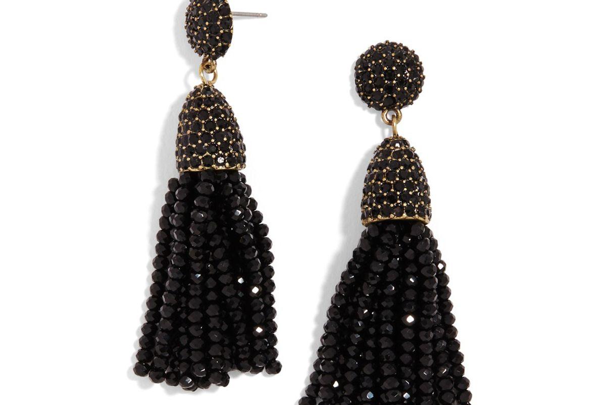 Mini Gem Piñata Tassel Earrings