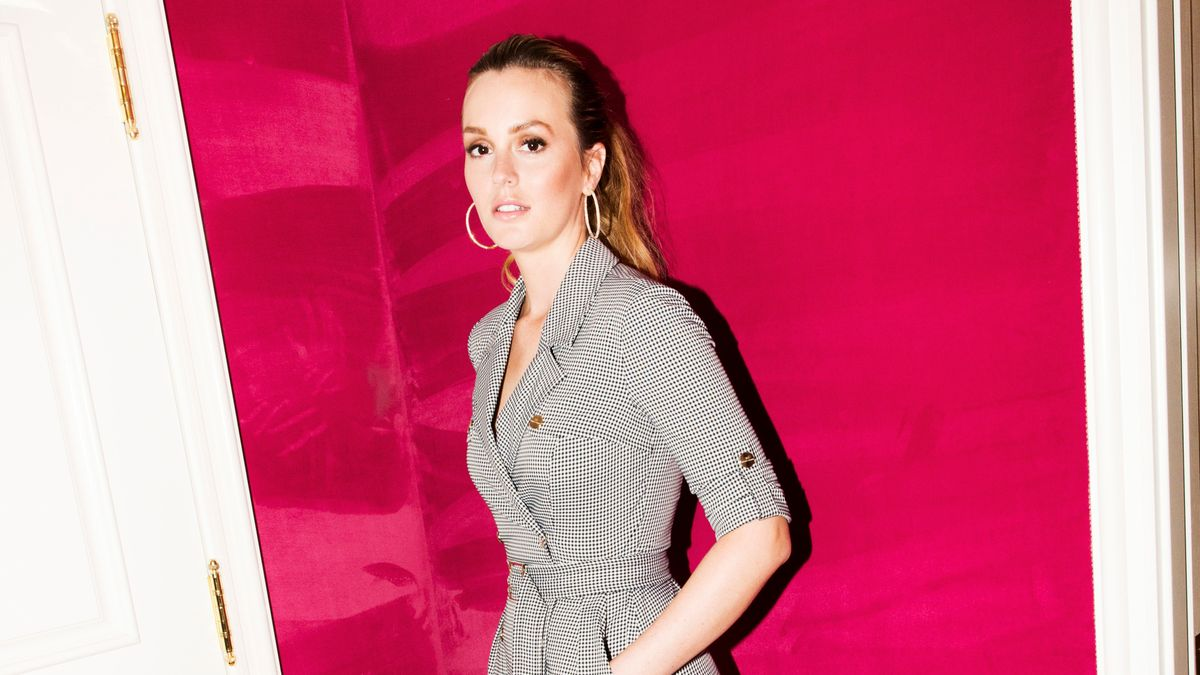 Even Leighton Meester Struggles to Get Rid of Clothes She *Might* Wear