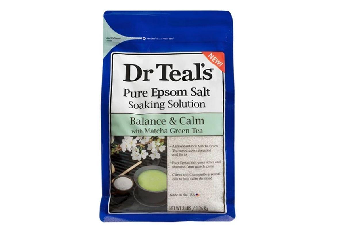 dr teal s matcha green tea epsom salt bath soaks