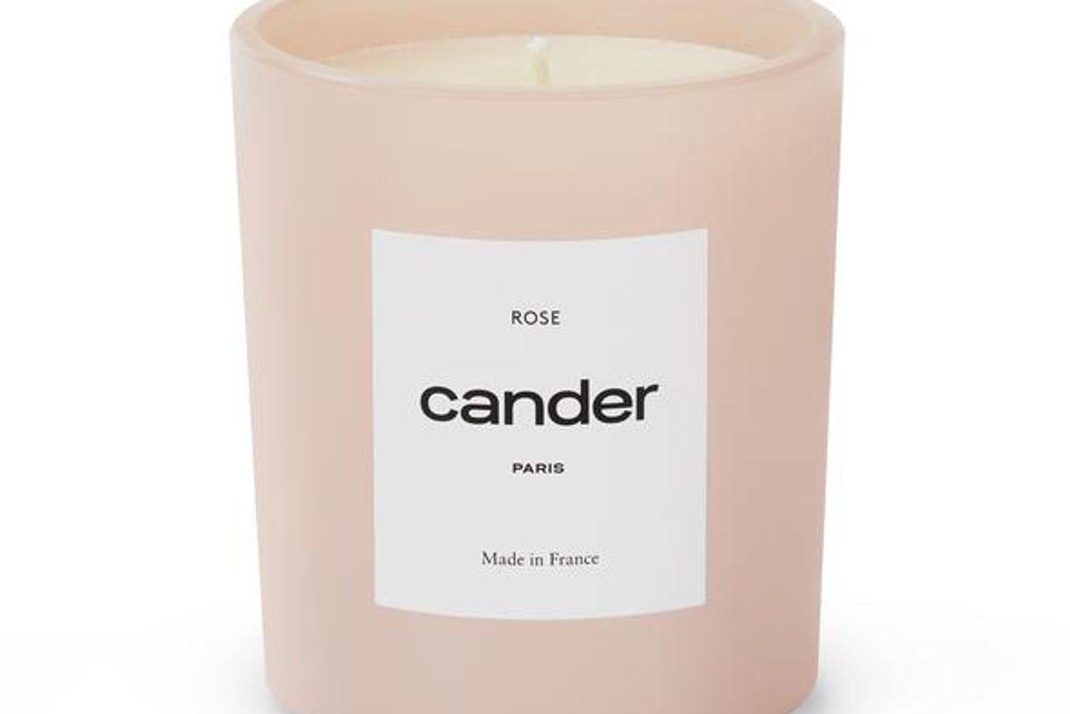 cander paris rose candle