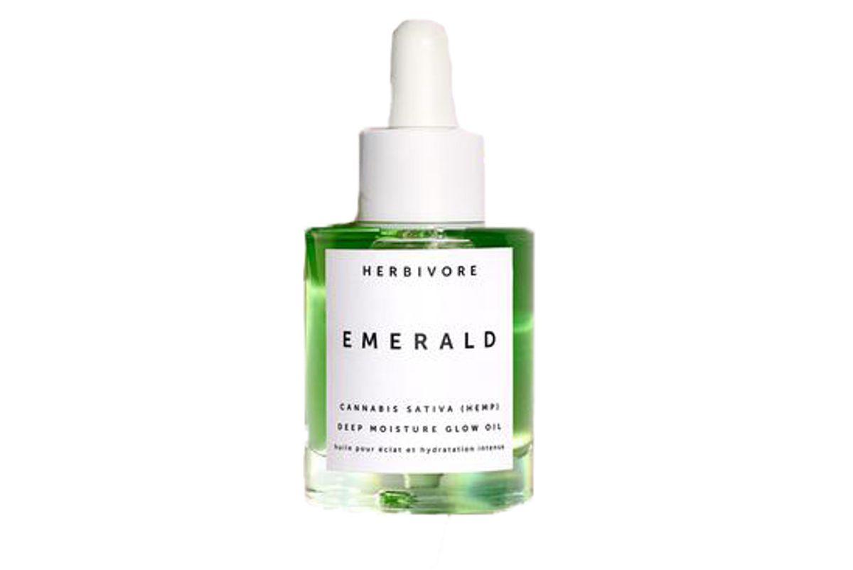 herbivore indica cannabis adaptogen deep moisture glow oil