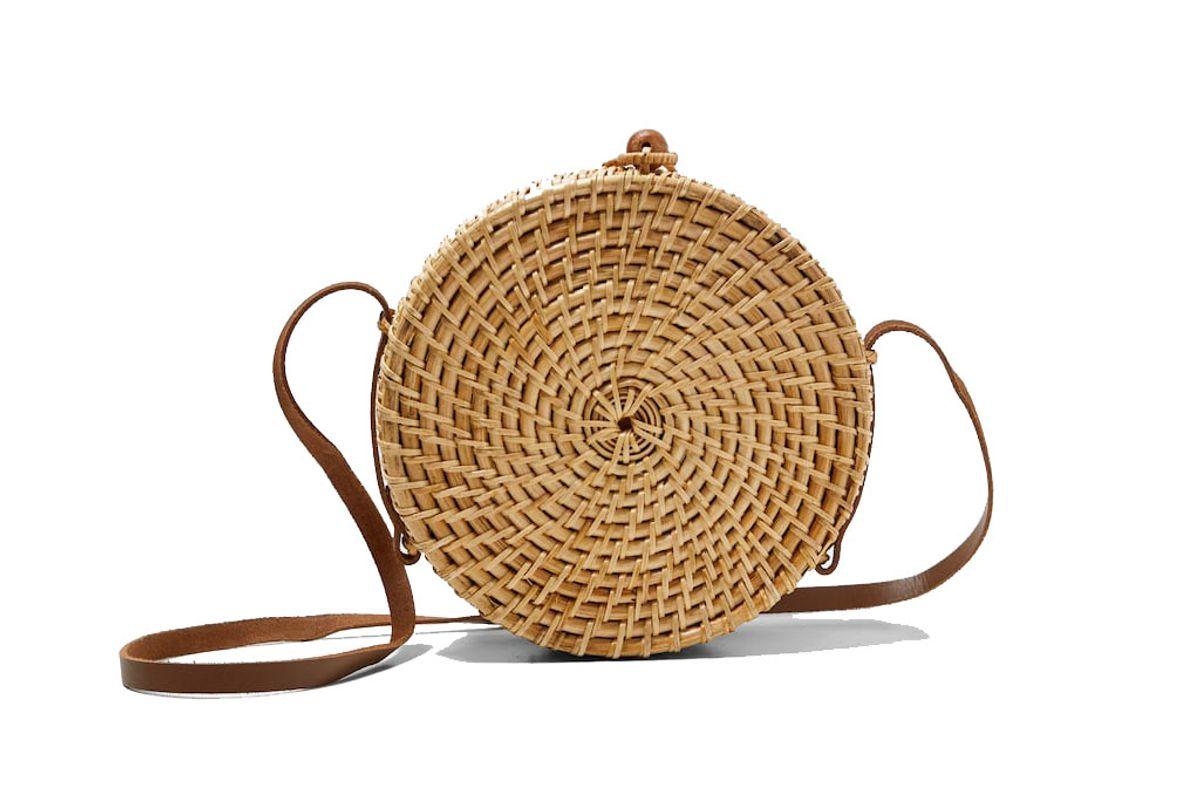 zara round bag