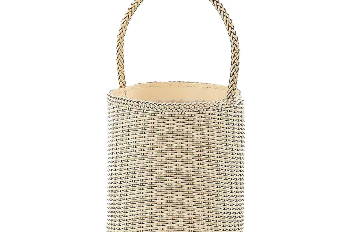 genuine people tall basket bag