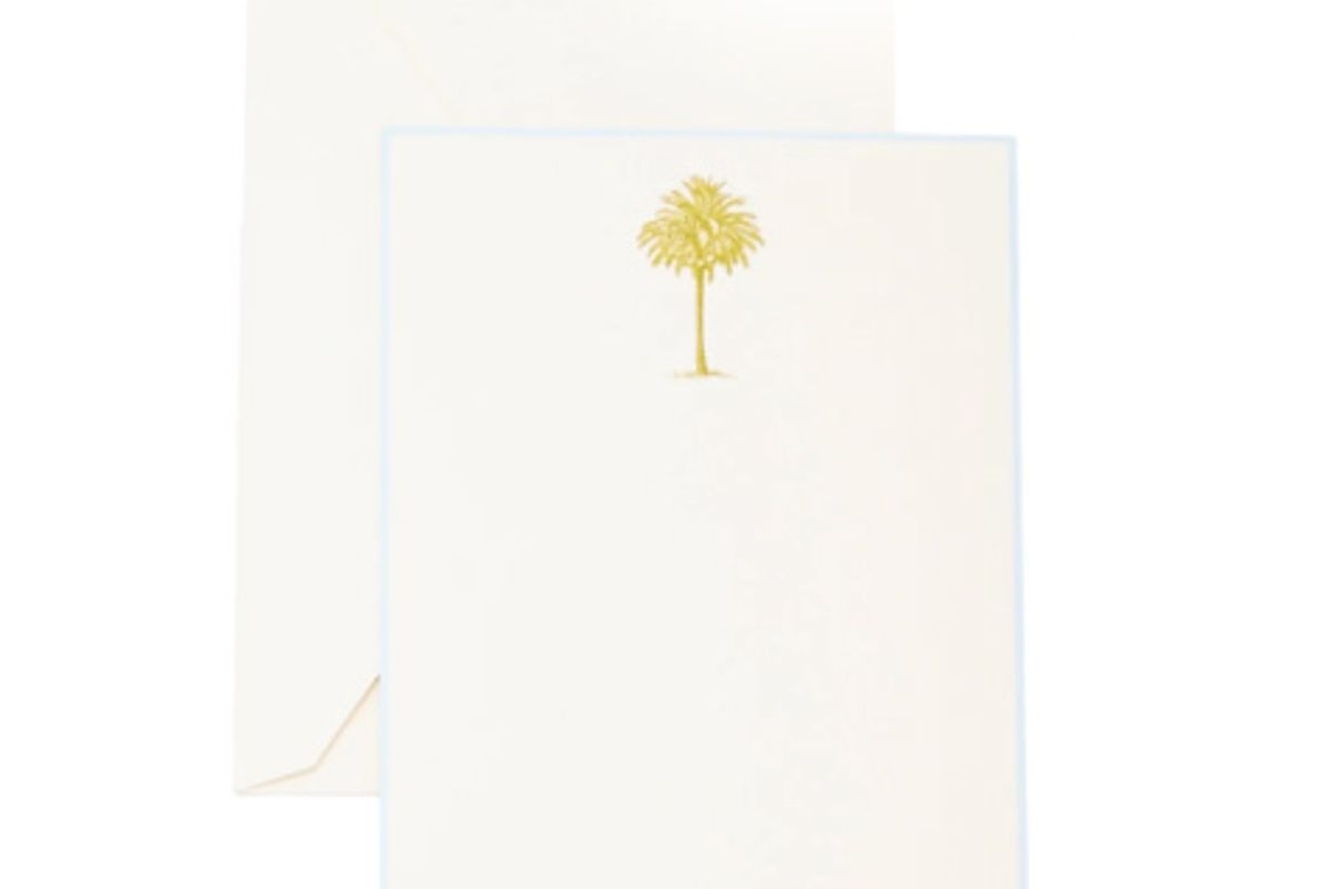Palm Tree Boxed Note Cards