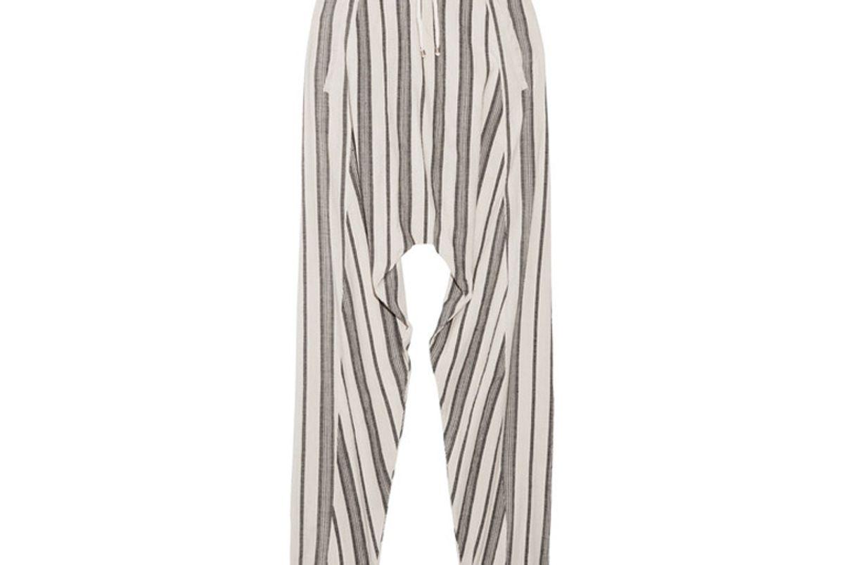 Guillaume Slub Cotton-Jacquard Pants