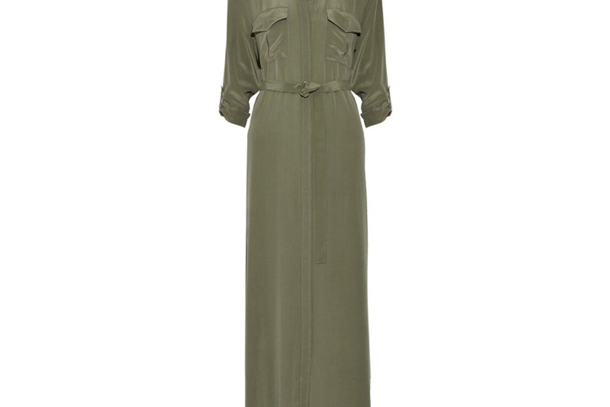 Major Washed-Silk Maxi Dress