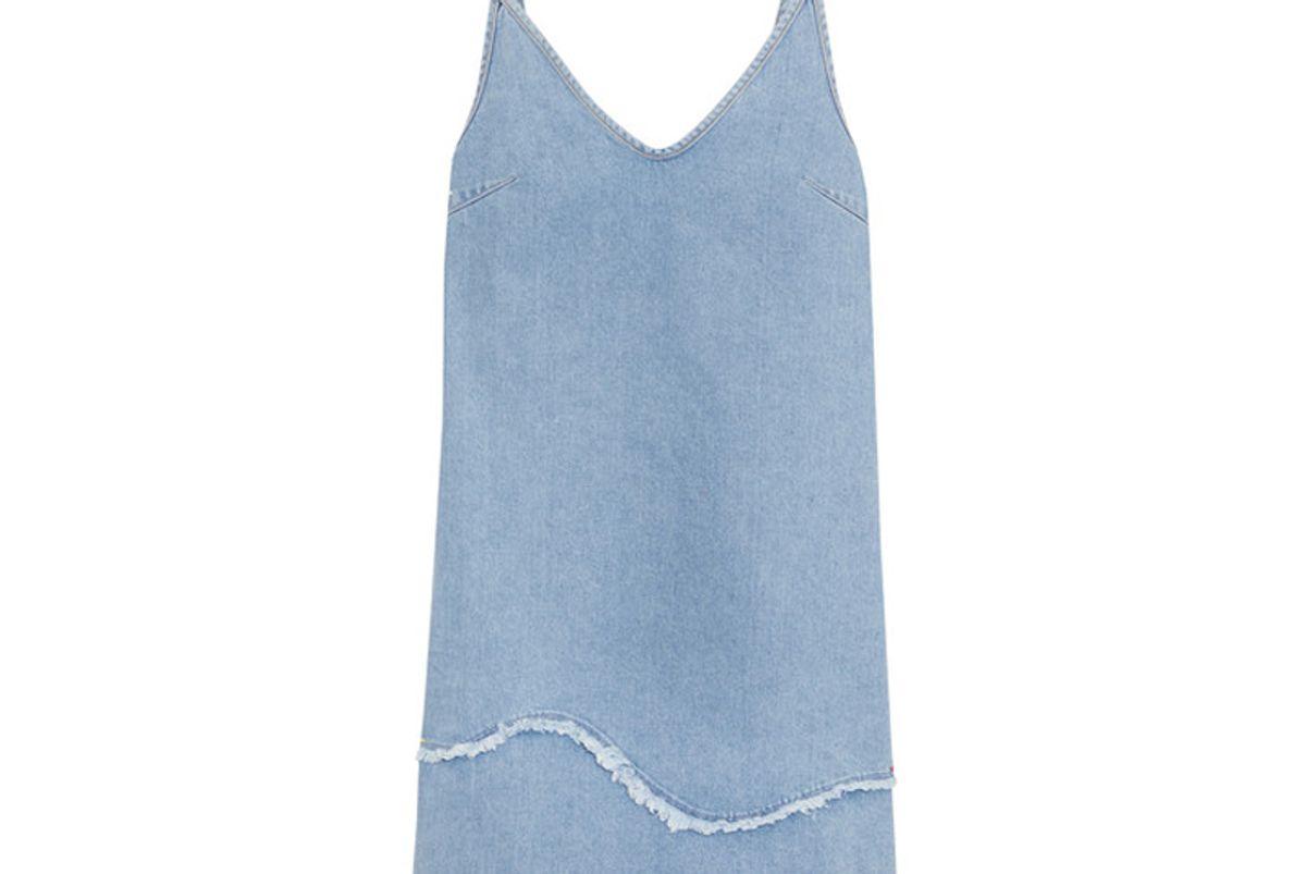 Harley Frayed Denim Dress