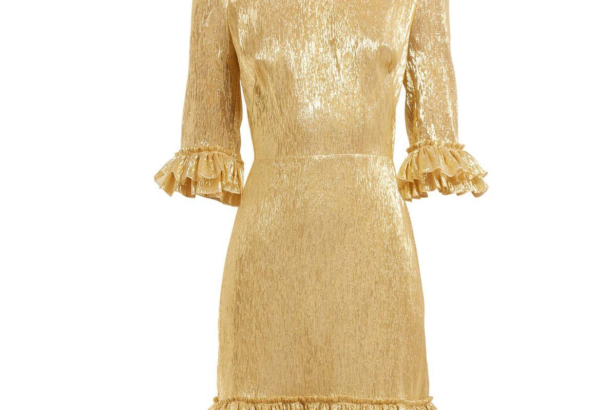 the vampires wife mini festival silk blend dress