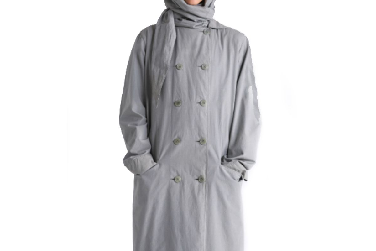 lemaire trench dress