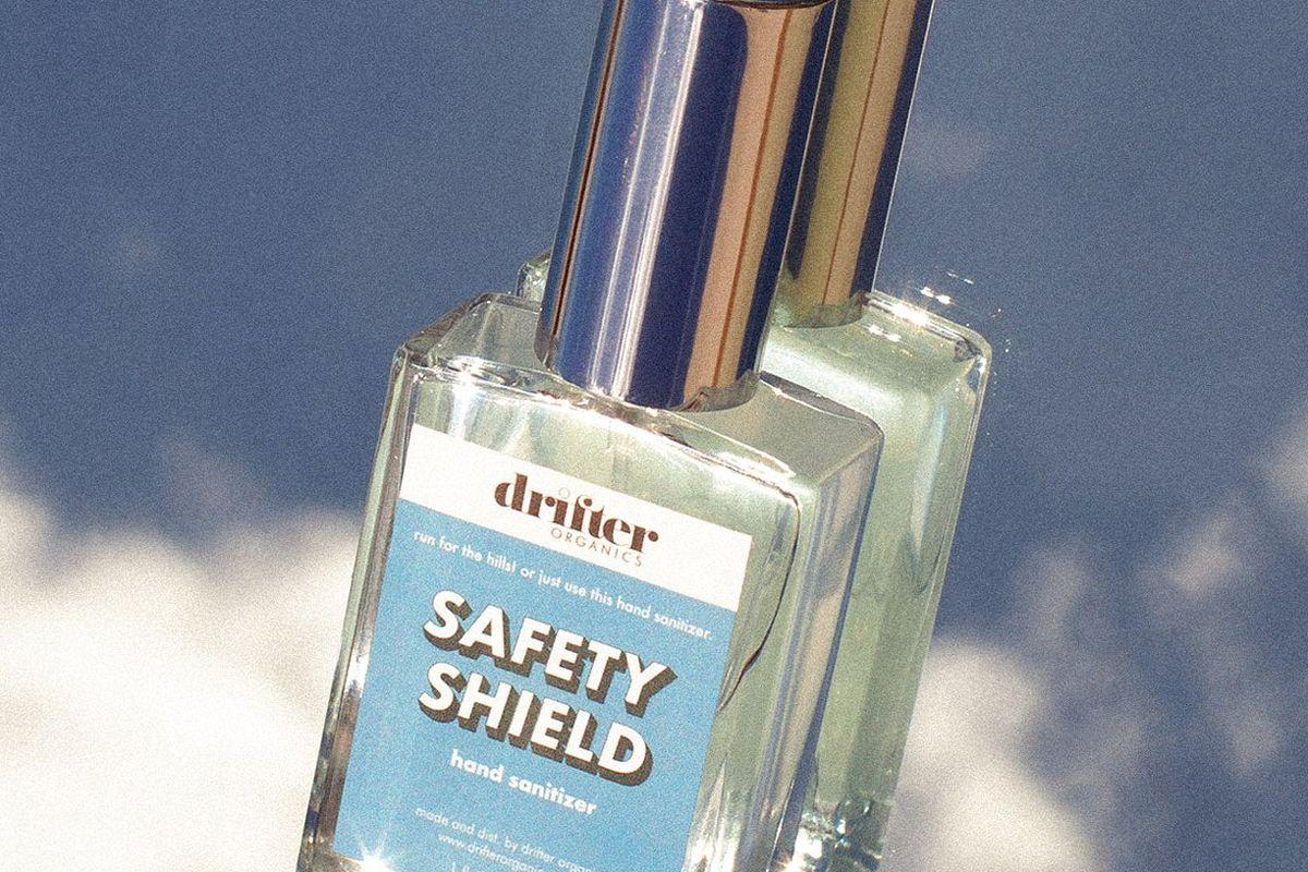 drifter organics safety shield hand sanitizer