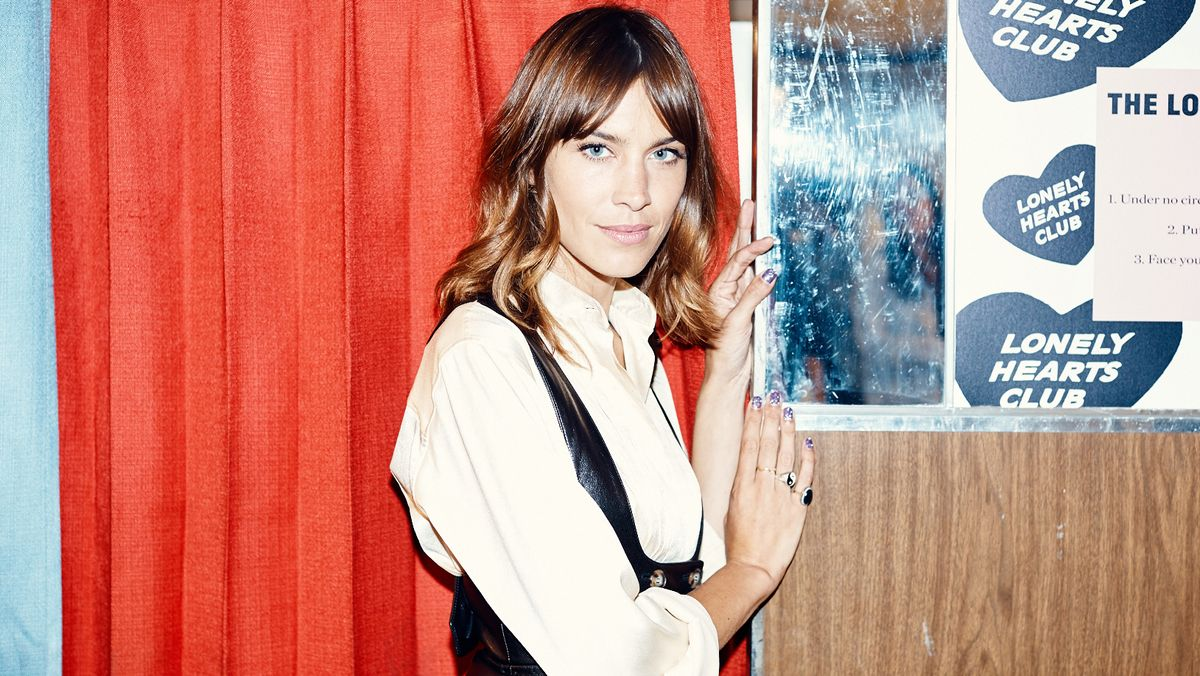 Alexa Chung Agreed to Officiate My Wedding