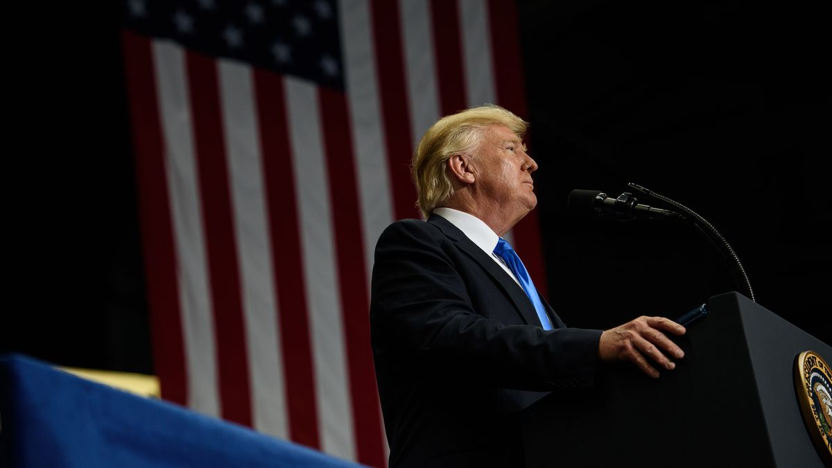 Donald Trump Announces a Ban on Transgender People Serving in the Military