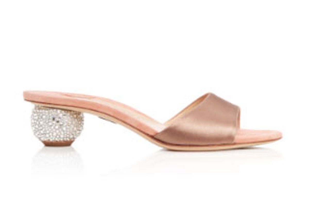 Arco Satin Sandals