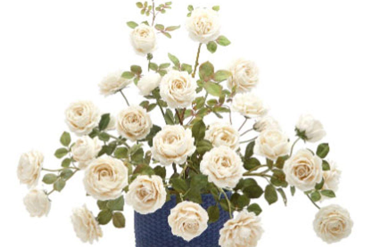 vladimir kanevsky one of a kind procumbent rose porcelain centerpiece
