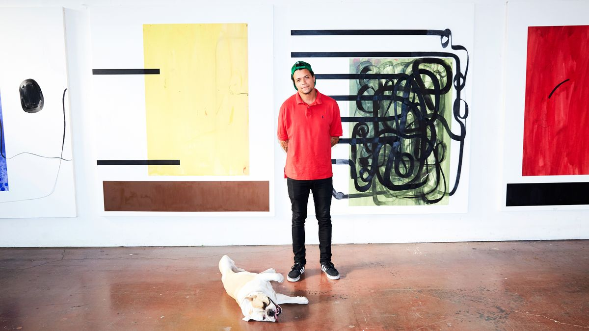The Artist Whose Work Hangs In Leonardo DiCaprio's and Jay-Z's Homes