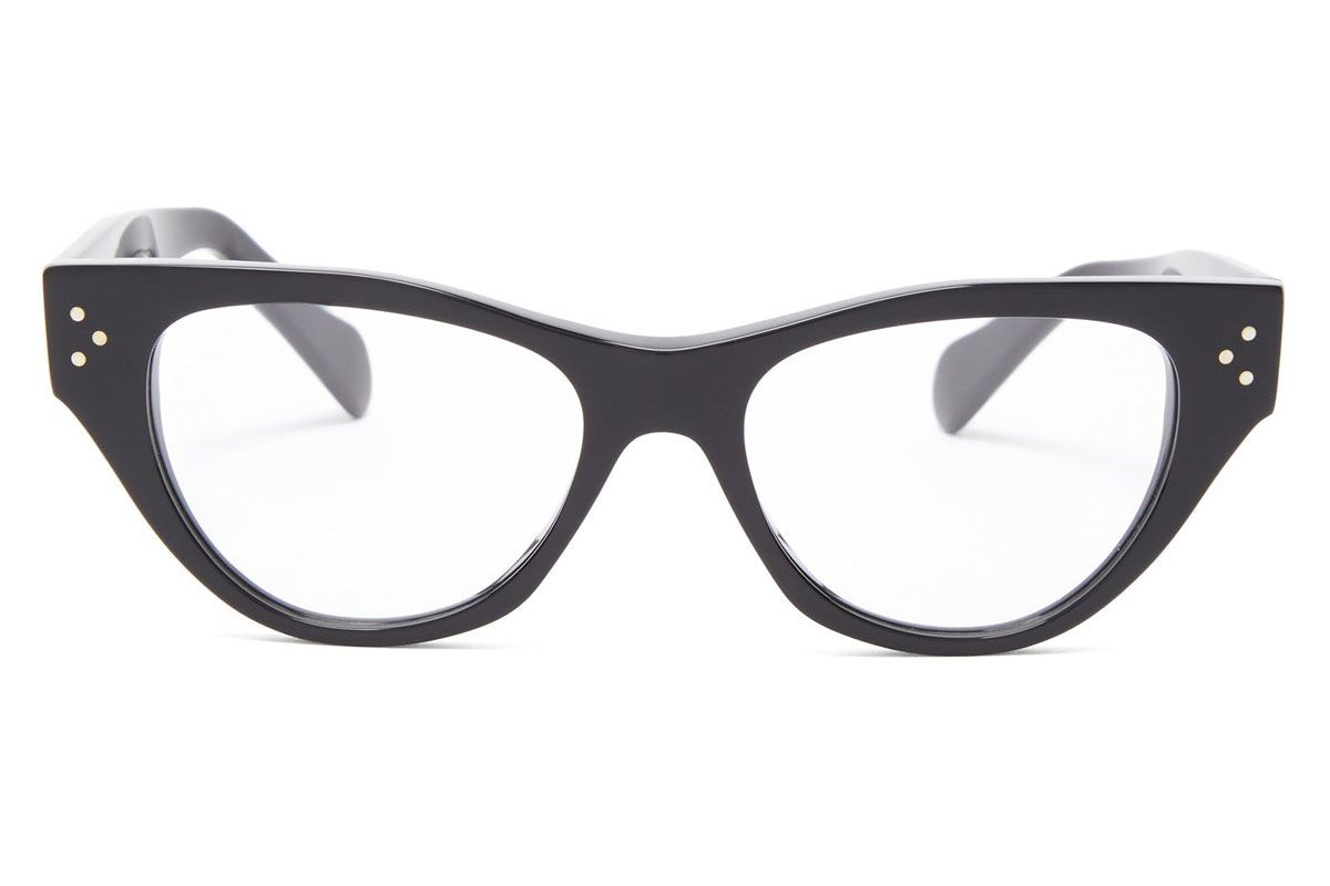 celine eyewear cat eye acetate glasses