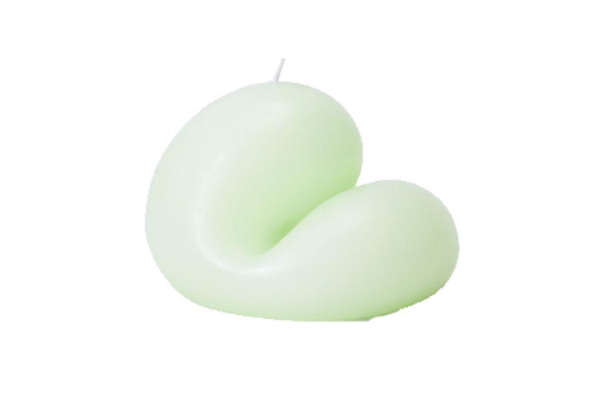 goober candle em green