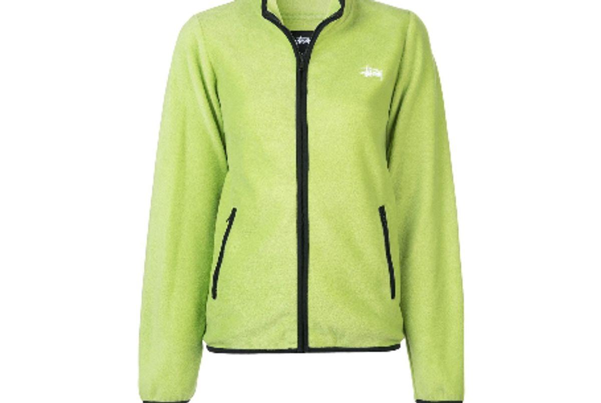 stussy luna fleece jacket
