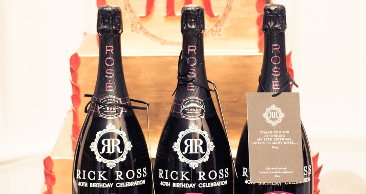 Behind The Scenes at Rick Ross' Birthday Blowout
