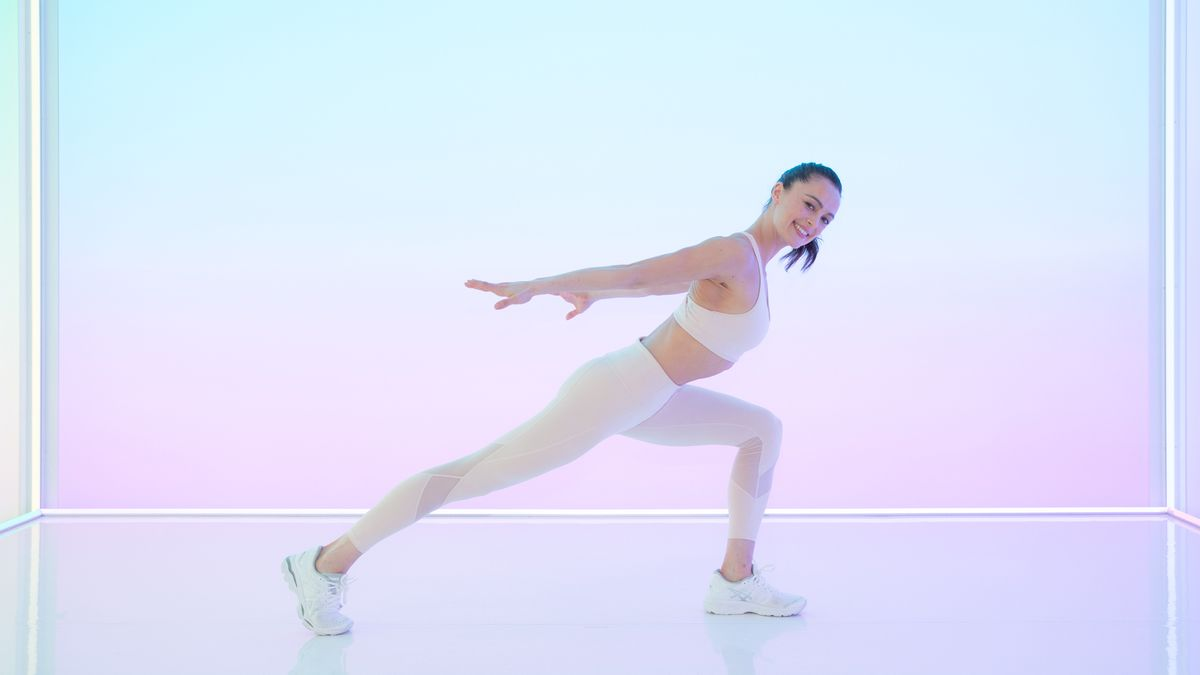 victoria's secret models full-body workout routine