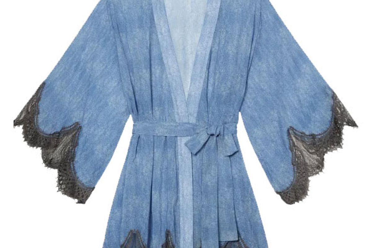 savage x fenty chiffon robe
