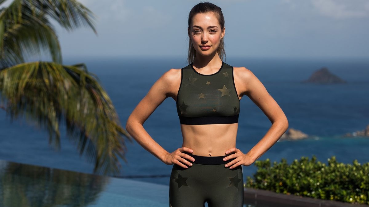 A Model-Approved Vacation Workout