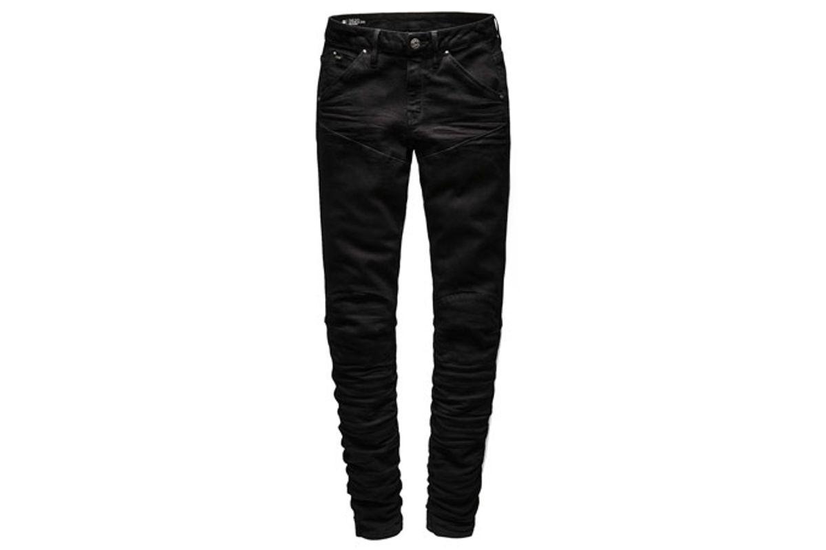 5620 Elwood Staq 3D Mid Waist Skinny Jeans