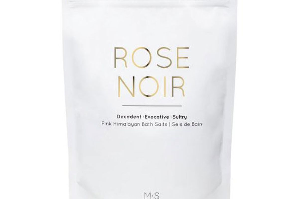 ms skincare rose noir pink himalayan bath salts