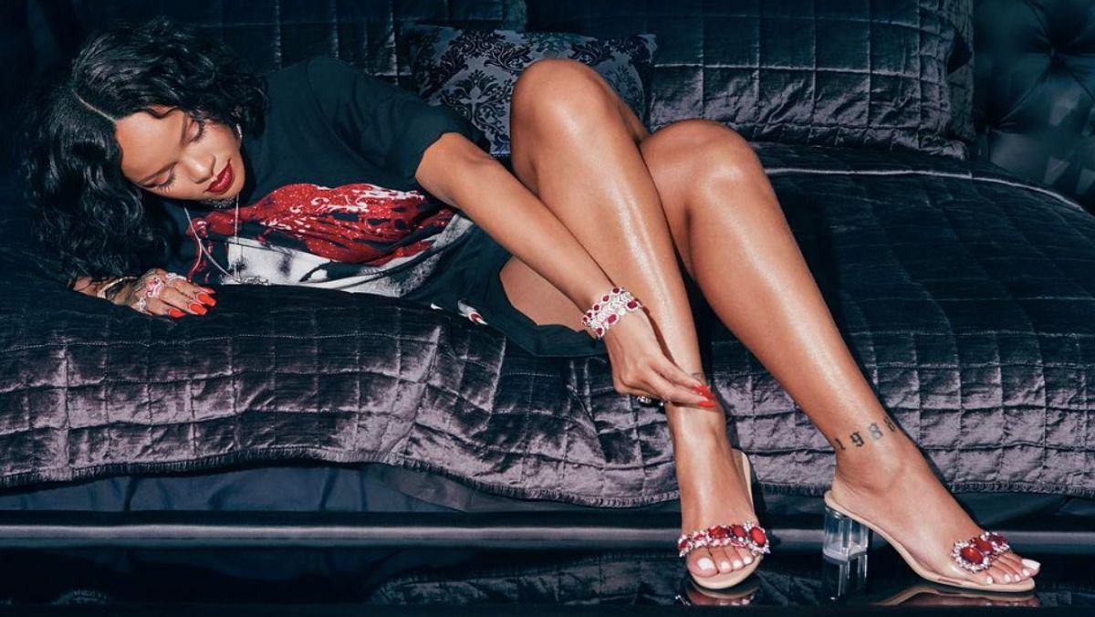 Rihanna's Latest Manolo Blahnik Collaboration Is Out