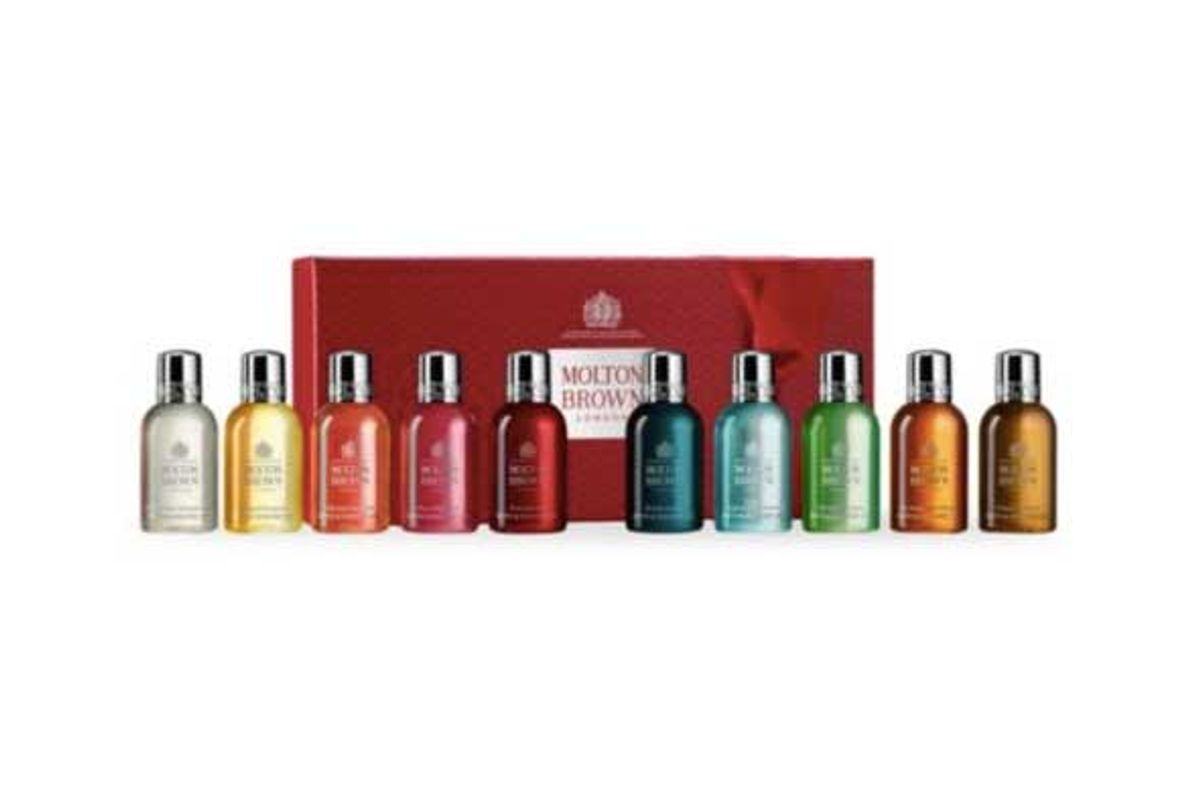 molton brown stocking fillers 10 piece christmas gift collection